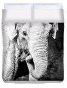 Elephant IIi Duvet Cover