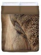 Elephant Lashes Duvet Cover