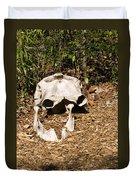 Elephant Skull Duvet Cover