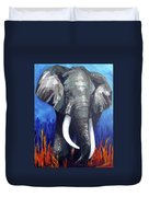 Elephant - The Gentle Duvet Cover