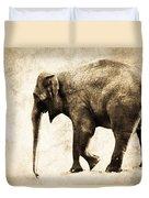 Elephant Walk Duvet Cover