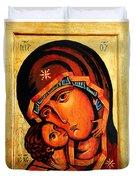 Eleusa Icon Duvet Cover