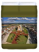 Elevated View Of Ave Maria Oratory Duvet Cover