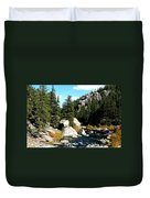 Eleven Mile Canyon Stream Duvet Cover