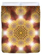 Eleven Sacred Steps Of Light K1 Duvet Cover by Derek Gedney