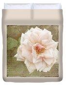 Elie Beauvillain Rose Textured Art Duvet Cover