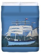 Elissa The Ship Duvet Cover