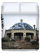 Elitch Carousel Pavilion Duvet Cover