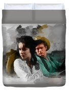 Elizabeth And James - Giant Duvet Cover