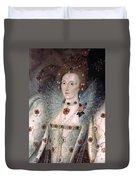 Elizabeth I Of England Duvet Cover