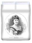 Elizabeth Of Romania (1843-1916) Duvet Cover