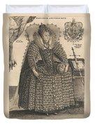 Elizabeth, Queen Of England, C.1603 Duvet Cover