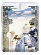 Elizabethan England Duvet Cover