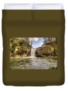 Elk Creek Falls 31 Duvet Cover