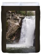Elk Creek Falls 35 Duvet Cover