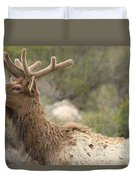 Elk Sky Gaze Duvet Cover