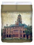 Ellis County Courthouse Duvet Cover