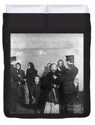 Ellis Island: Inspection Duvet Cover