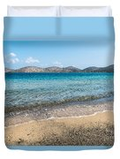 Elounda Beach Duvet Cover