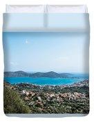 Elounda Town Duvet Cover