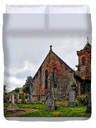 Elvanfoot Parish Church Duvet Cover by Marcia Colelli