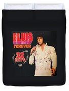Elvis Album Duvet Cover