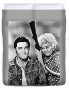 Elvis And Joan Duvet Cover