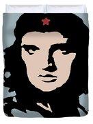 Elvis Che Guevara Viva Las Vegas Duvet Cover