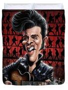 Elvis In Memphis Duvet Cover