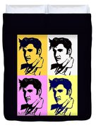 Elvis Pop X Four Duvet Cover