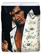 Elvis Presley Painting Duvet Cover