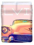 Elvis Presley Pink Cadillac Duvet Cover