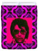 Elvis Presley Window M88 Duvet Cover