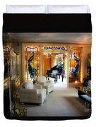 Elvis Presley's Living Room Duvet Cover