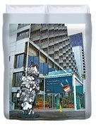 Embarcadero Buildings In San Francisco-california  Duvet Cover