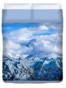 Embraced By Clouds Duvet Cover