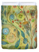 Embracing The Journey Duvet Cover
