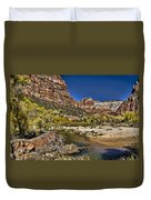 Emeral Pools Trail - Zion Duvet Cover
