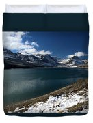 Emerald Blue Waters Duvet Cover
