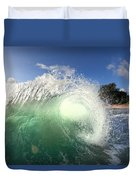 Emerald Flare Duvet Cover