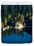Emerald Isle Duvet Cover