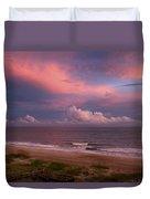 Emerald Isle Sunset Duvet Cover