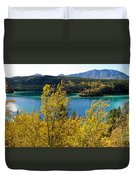 Emerald Lake At Carcross Yukon Territory Canada Duvet Cover