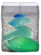Emerald Light Duvet Cover by Barbara McMahon