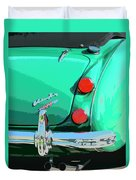 Emerald Palm Springs Duvet Cover