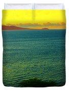 Emerald Sea Duvet Cover