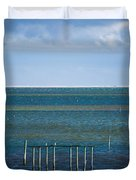 Emerald Seas Duvet Cover