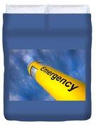Emergency Duvet Cover