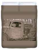 Emergency Truck Duvet Cover
