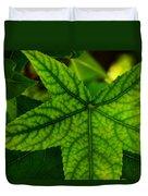 Emerging Greens Duvet Cover